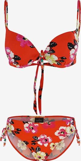 bugatti Bikini ' Sport ' en mélange de couleurs / mandarine, Vue avec produit