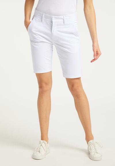 DreiMaster Maritim Shorts in weiß, Modelansicht