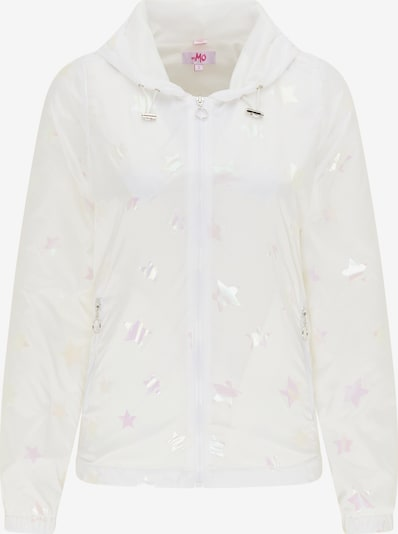 MYMO Between-season jacket in Pastel yellow / Pastel pink / White, Item view