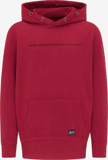 Petrol Industries Bluza w kolorze czerwony / czarnym, Podgląd produktu