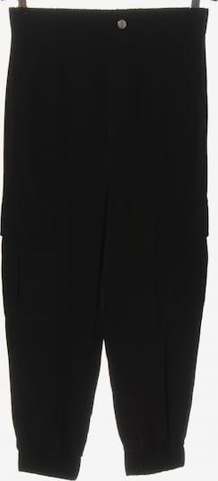 ZARA Cargohose in S in schwarz, Produktansicht