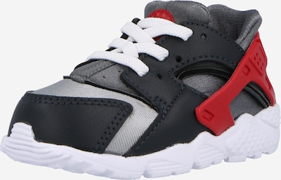 tengerészkék / szürke / piros Nike Sportswear Sportcipő 'Huarache Run', Termék nézet