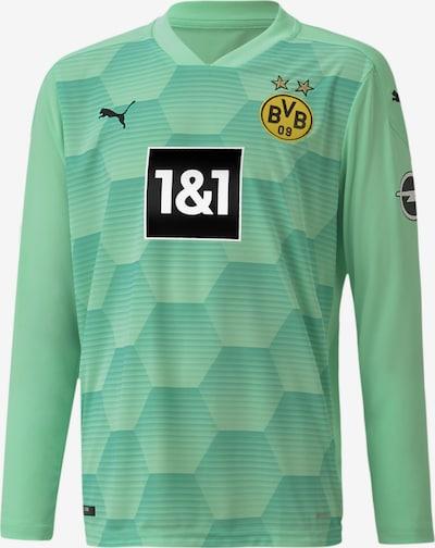 PUMA Shirt 'BVB' in gelb / grün / schwarz / weiß, Produktansicht