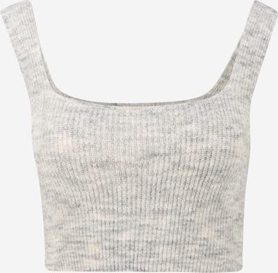 Top in maglia 'AMALIE' Pieces (Petite) di colore grigio chiaro, Visualizzazione prodotti