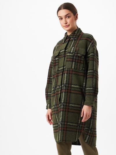 VERO MODA Übergangsjacke 'Chrissie' in braun / grün / schwarz, Modelansicht