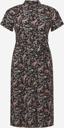 Vero Moda Curve Košulja haljina 'SIMPLY EASY' u narančasto crvena / crna / bijela, Pregled proizvoda