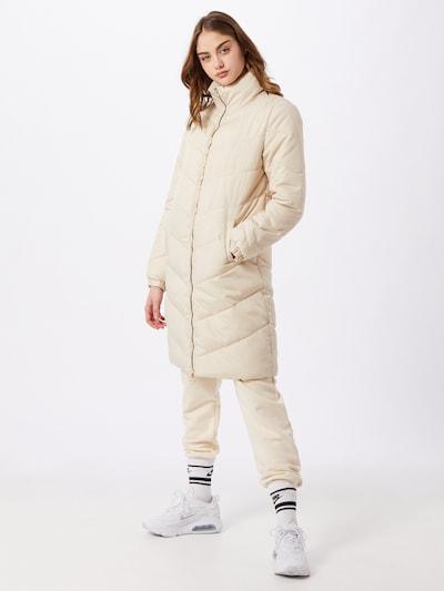 JDY Mantel 'Finno' in beige, Modelansicht