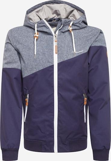 Ragwear Přechodná bunda - šedá / tmavě fialová, Produkt
