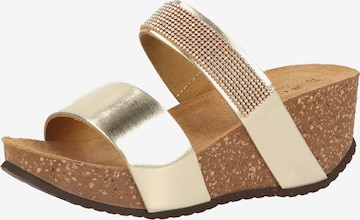 SCAPA Pantolette in Gold