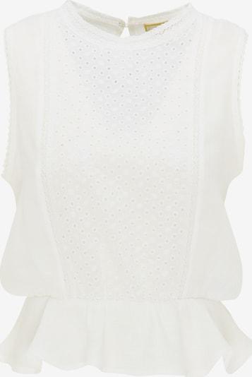 MYMO Top in de kleur Wit, Productweergave
