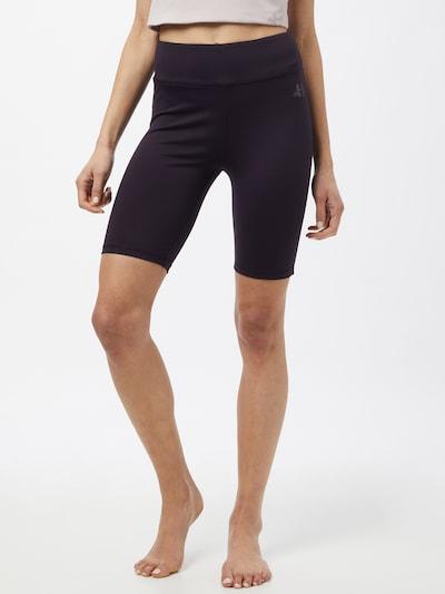 CURARE Yogawear Športové nohavice - čierna: Pohľad spredu