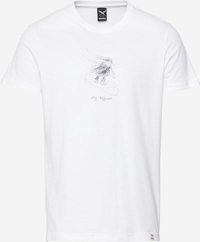 Iriedaily Shirt 'Snow Dude' in schwarz / weiß, Produktansicht
