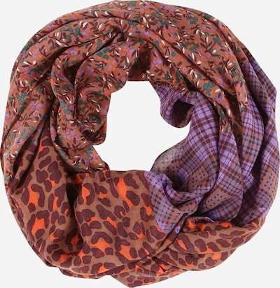 ESPRIT Loop scarf in brown / purple / orange, Item view