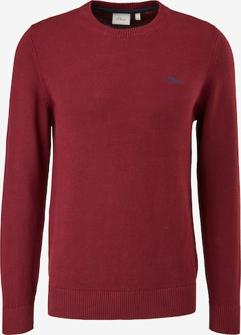 s.Oliver Pullover in Rot