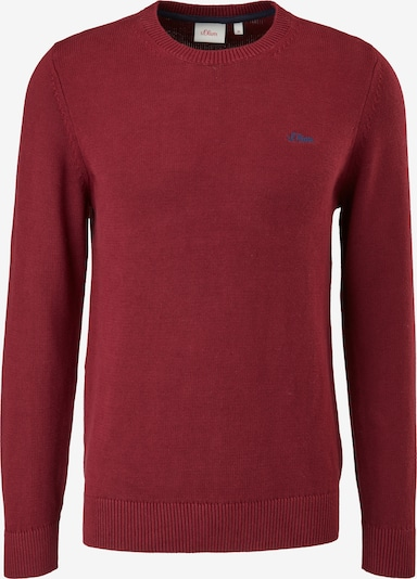 s.Oliver Pullover in Bordeaux, Item view