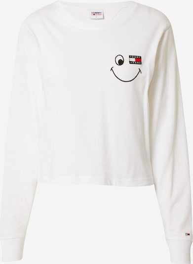Tommy Jeans T-shirt i marinblå / röd / svart / vit, Produktvy