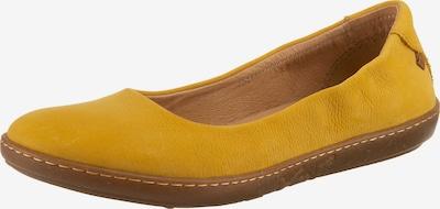EL NATURALISTA Ballet Flats in Yellow, Item view