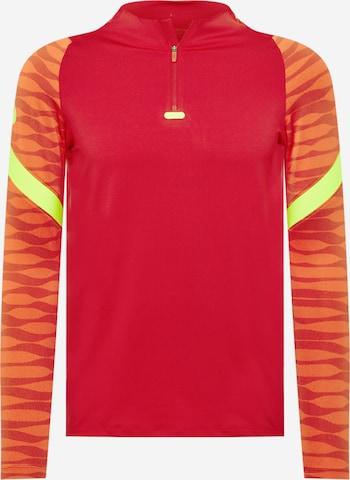 sarkans NIKE Sporta krekls 'Strike'