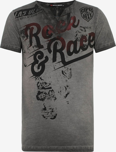 CIPO & BAXX T-Shirt in anthrazit, Produktansicht