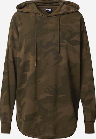 Urban Classics Sweatshirt in de kleur Kaki / Olijfgroen, Productweergave