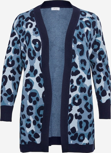SHEEGO Kardigan w kolorze nakrapiany niebieskim, Podgląd produktu
