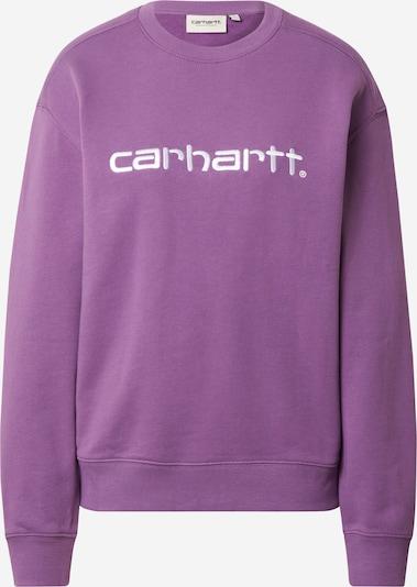 Carhartt WIP Sweatshirt in de kleur Lila / Wit, Productweergave