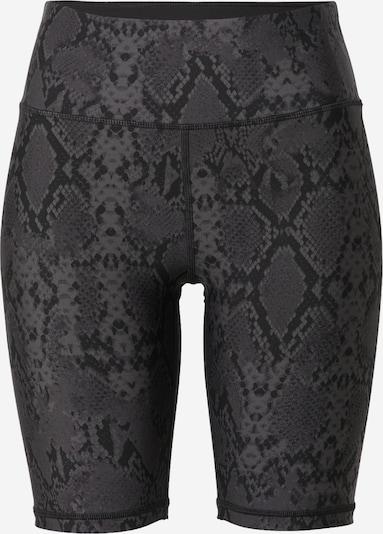 Pantaloni sport DKNY Performance pe gri închis / negru, Vizualizare produs
