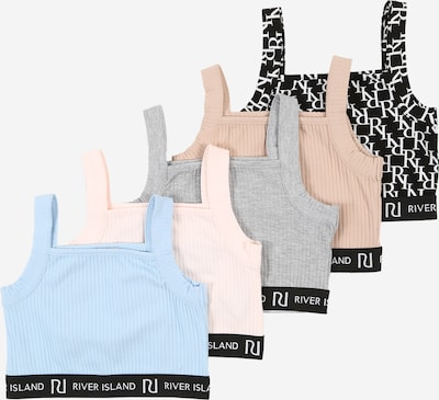 River Island Top '5PACK CROP' in de kleur Gemengde kleuren, Productweergave