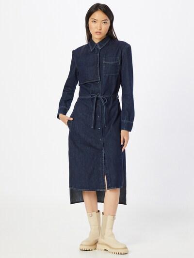 FREEMAN T. PORTER Kleid 'Daisy' in dunkelblau, Modelansicht