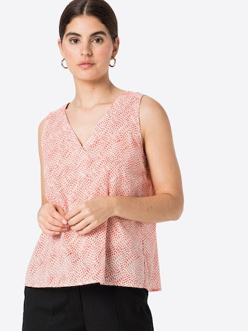 comma casual identity Bluse in Rot