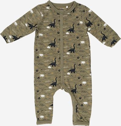 Guppy Pyžamo 'ZBMLAMAR' - tmavozelená / čierna / biela, Produkt