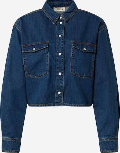 EDITED Hemd 'Jordyn' in blue denim, Produktansicht