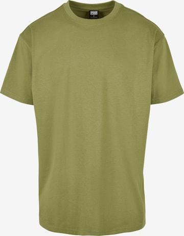 Maglietta di Urban Classics in verde