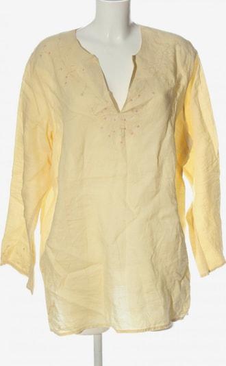 M&S Langarm-Bluse in 5XL in pastellgelb, Produktansicht