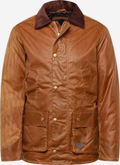 Brixtol Textiles Veste d'hiver 'Curtis' en sable / marron châtaigne, Vue avec produit