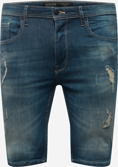 BURTON MENSWEAR LONDON Jeans i blå denim, Produktvy