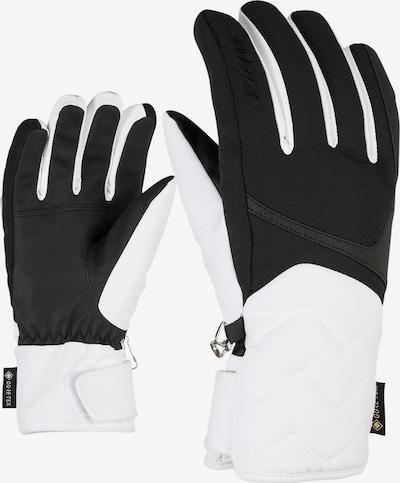 ZIENER Skihandschuhe 'KYRENA GTX' in weiß, Produktansicht