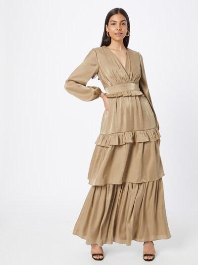 True Decadence Kleid in gold, Modelansicht