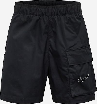 Nike Sportswear Byxa i svart / vit, Produktvy