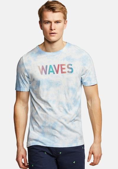 COLOURS & SONS T-Shirt Batik FRANK in blau: Frontalansicht
