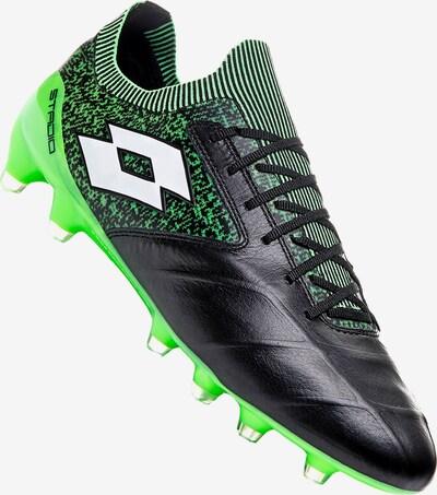 LOTTO Fußballschuh in neongrün / schwarz, Produktansicht