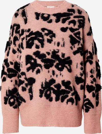 VILA Pullover 'TYZZA' in altrosa / schwarz, Produktansicht