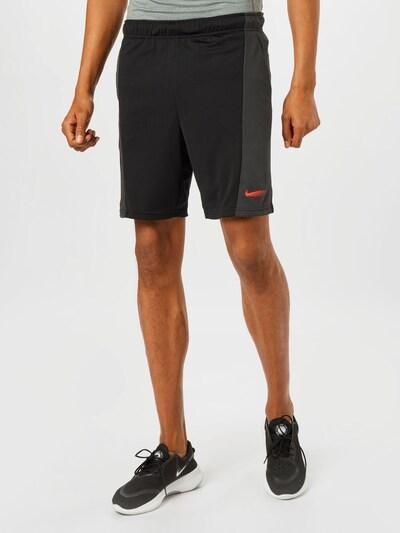 antracit / fekete NIKE Sportnadrágok, Modell nézet