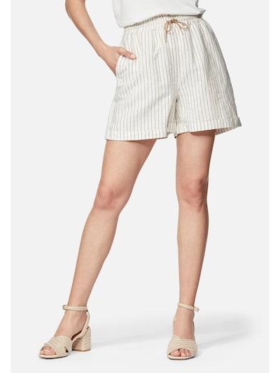 Mavi Hose in braun / weiß, Modelansicht