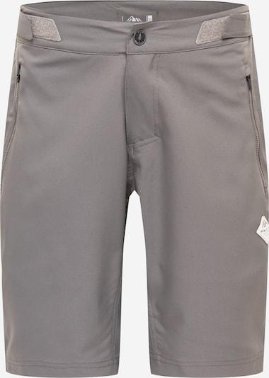 Maloja Sporthose 'Bardin' in greige / weiß, Produktansicht
