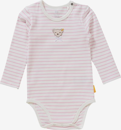 STEIFF Romper/Bodysuit in Pink / White, Item view