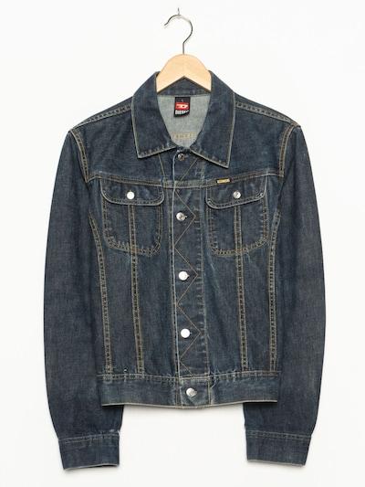 DIESEL Jacket & Coat in L in Blue denim, Item view