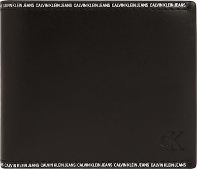 Portofel Calvin Klein Jeans pe negru / alb, Vizualizare produs