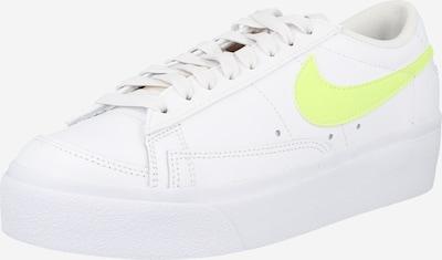 Nike Sportswear Zapatillas deportivas bajas en amarillo / blanco, Vista del producto