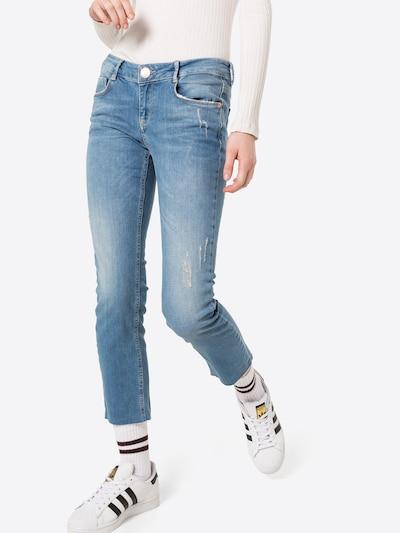 Goldgarn Jeans 'ROSENGARTEN' in blue denim, Modelansicht